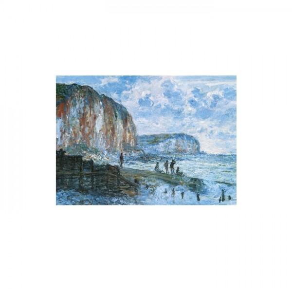 Cliffs of the Petites Dalles 50x70 cm