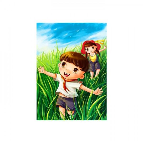 Çocuk Kanvas Tablo 50X70 Cm