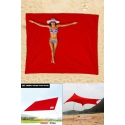 Çok Amaçlı Katlanabilir Tente (Kırmızı)