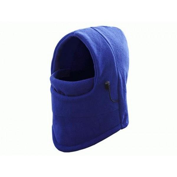 Çok Fonksiyonlu Bere (6 Fonksiyon Bir Arada) Mavi