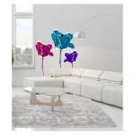 Color Tulip Dev Duvar Sticker