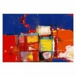 Colors-2 95x70 cm Kanvas Tablo