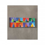 Colourful Art Kanvas Tablo 40X120 Cm