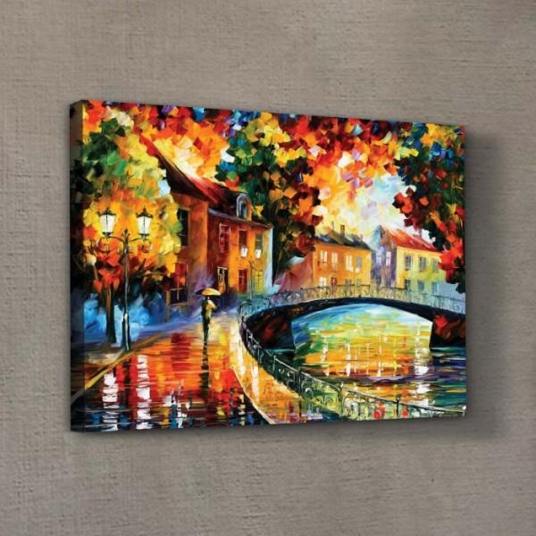 Colourful Day Kanvas Tablo 50X70 Cm