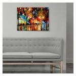Colourful Night Kanvas Tablo 50X70 Cm