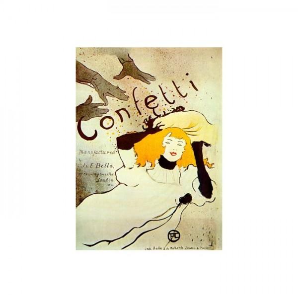 Confetti Kanvas Tablo 50X70 Cm