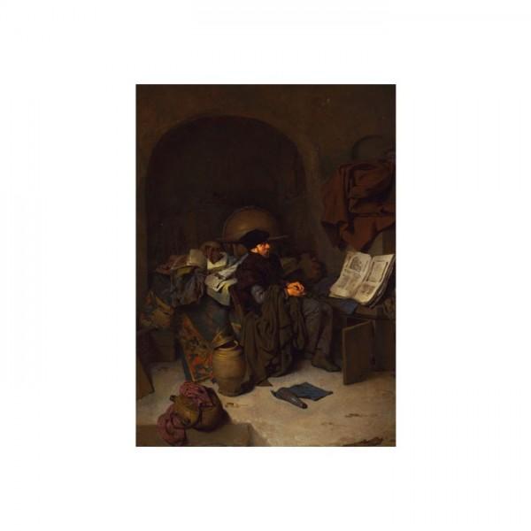 Cornelis Bega - An Astrologer 50x70 cm
