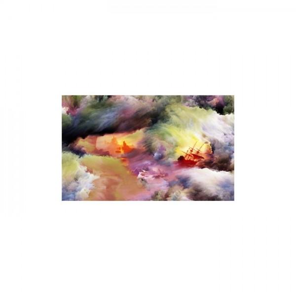Crazy 5 Parça Kanvas Tablo 135X85 Cm