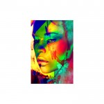 Creative Make Up 89x140 cm Duvar Resmi
