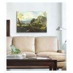 Crescenzio Onofri - Landscape with Figures 50x70 cm