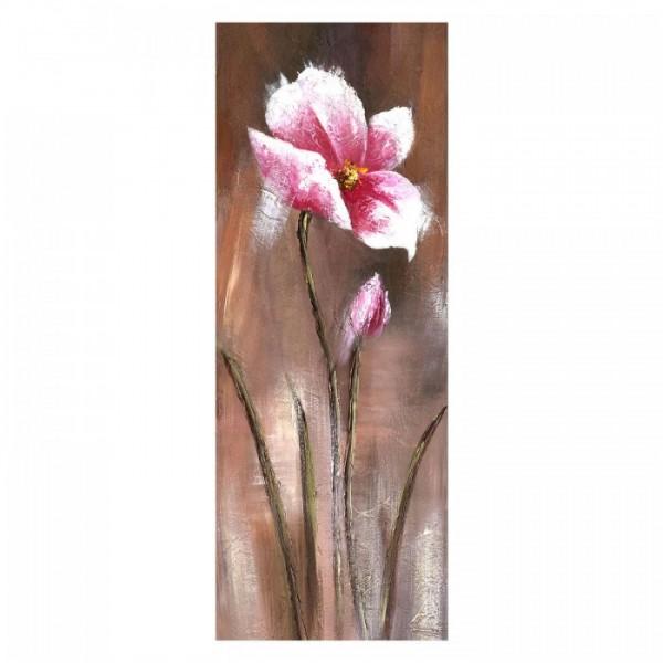 Crocus 30x90 cm Kanvas Tablo