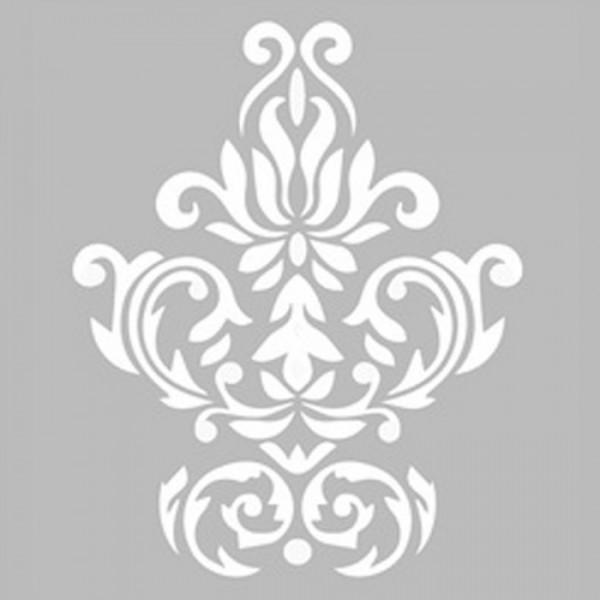 Damask 10 Stencil Tasarımı 30 x 30 cm