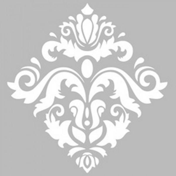 Damask 11 Stencil Tasarımı 30 x 30 cm
