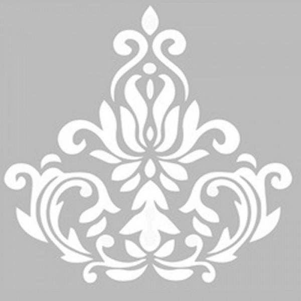 Damask 12 Stencil Tasarımı 30 x 30 cm