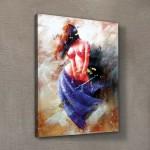 Dans Kanvas Tablo 50x70 cm