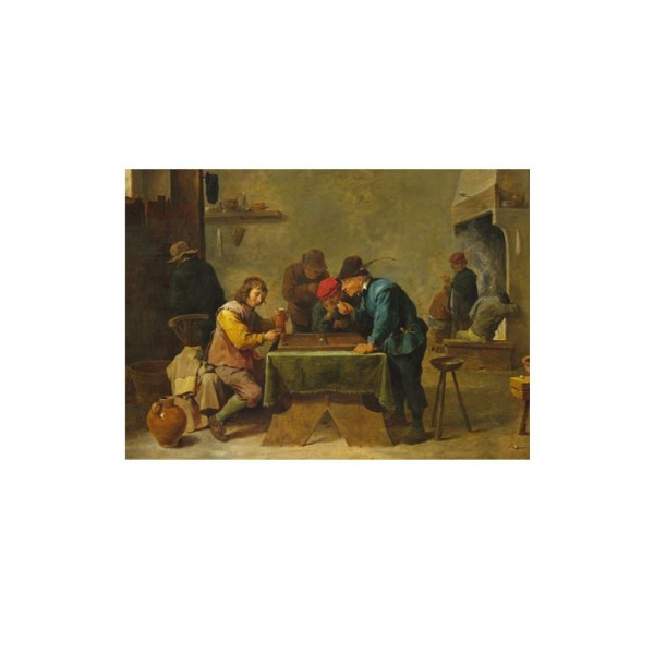 David Teniers the Younger - Backgammon Players 50x70 cm