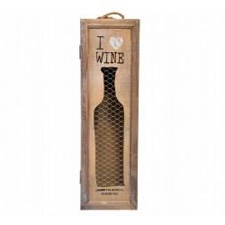 Decotown Bira Şarap Şişesi Saklama Kutusu