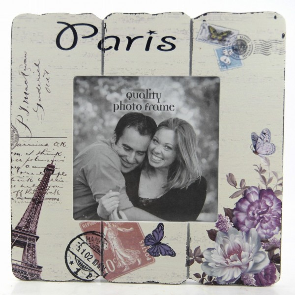 Decotown Paris Ahşap Fotoğraf Çerçevesi