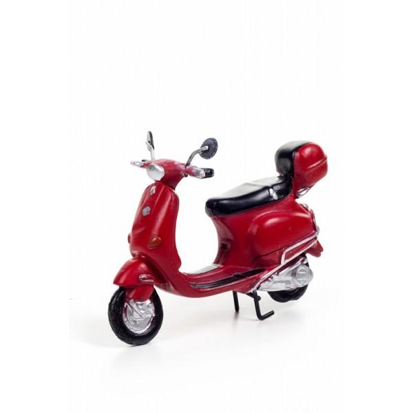 Decotown Nostaljik Klasik Dekoratif Scooter Motosiklet Biblo Süs