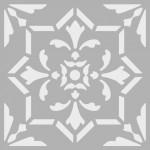 Dekor 5 Stencil Tasarımı 30 x 30 cm