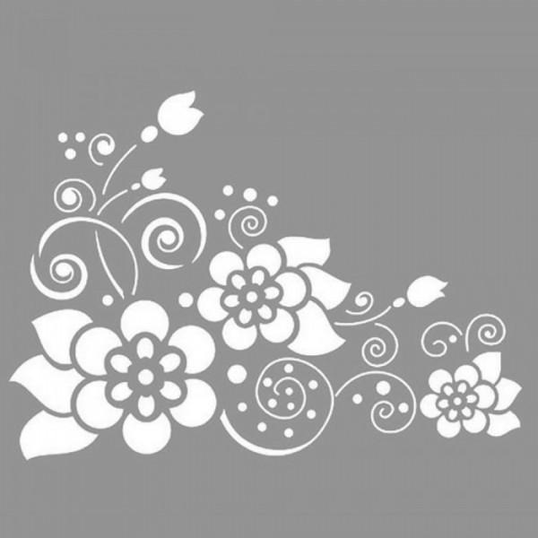 Delphine Stencil Tasarımı 30 x 30 cm