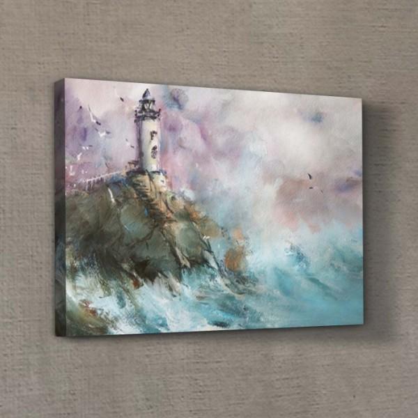 Deniz Feneri 50x70 cm Kanvas Tablo Copy Copy Copy