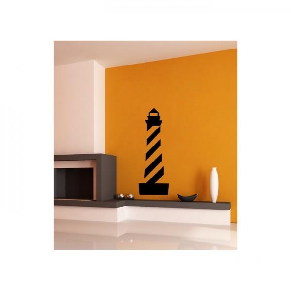 Deniz Feneri Kadife Duvar Sticker 46X132 Cm