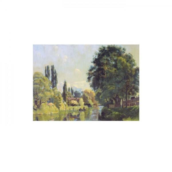Der Aarekanal bei Thun 50x70 cm