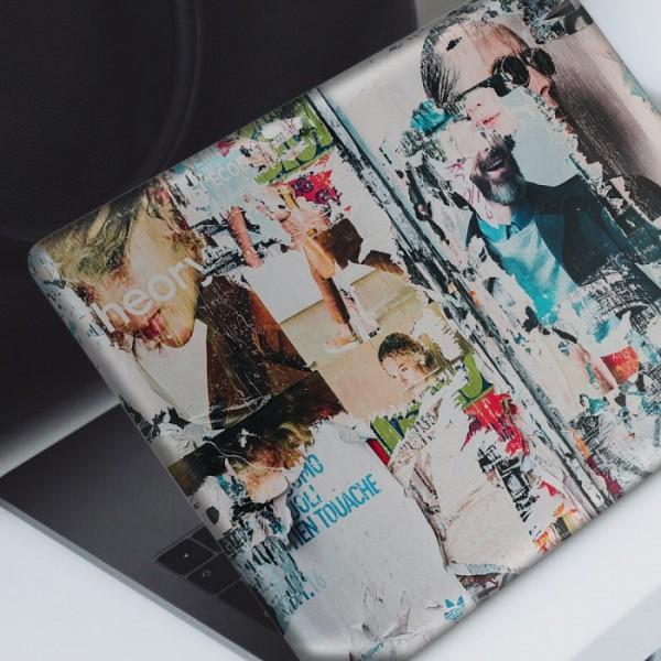 Dergi Kolajı Notebook Sticker