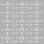 Desen 3 Stencil Tasarımı 30 x 30 cm