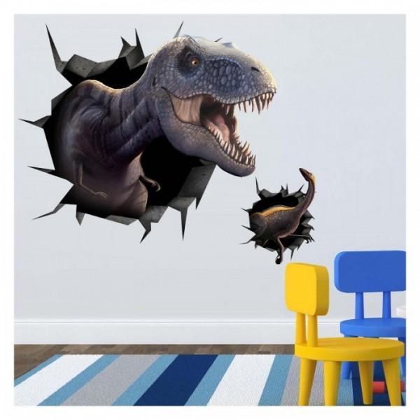 Dinozor Dev Duvar Sticker