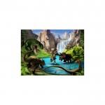 Dinozorlar 178x126 cm Duvar Resmi