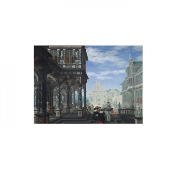 Dirck van Delen - An Architectural Fantasy 50x70 cm