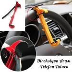 Araç içi Direksiyon Arası Pratik Telefon Navigasyon Tutucu Alet