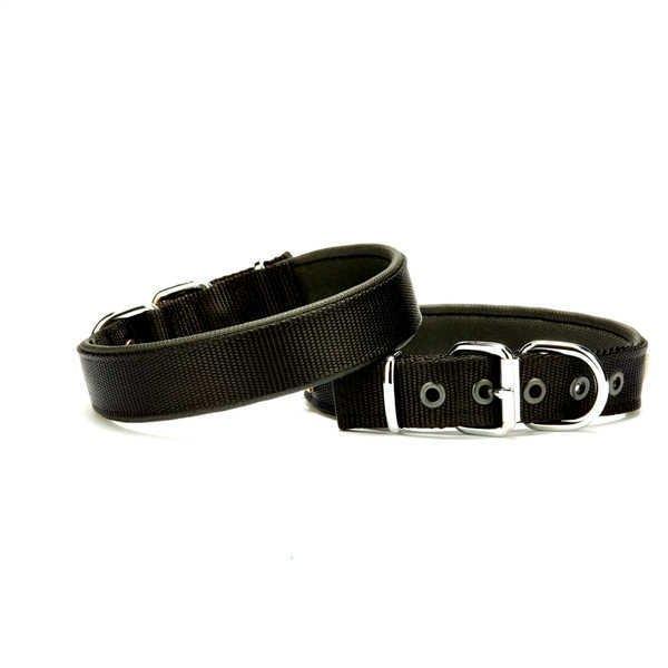 Doggie Köpek Tasması Softlu 3 cm x 65 cm Siyah