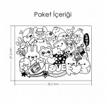 Doodle-2 Notebook Sticker