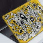 Doodle-3 Notebook Sticker