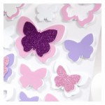 DP-1505C Kelebekler Eva Duvar Süsü, 3D Eva Duvar Süsü