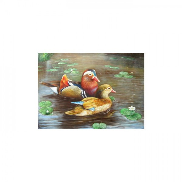 Ducks Kanvas Tablo 50X70 Cm