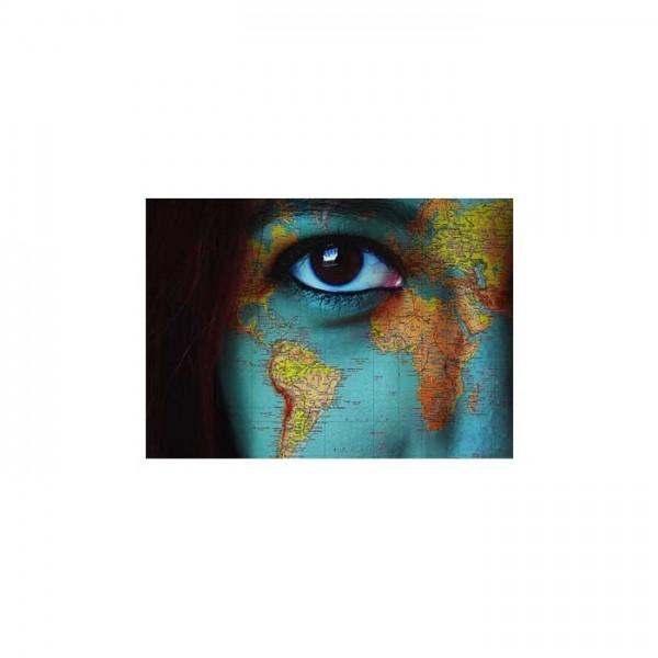Dünya Gözü Notebook Sticker
