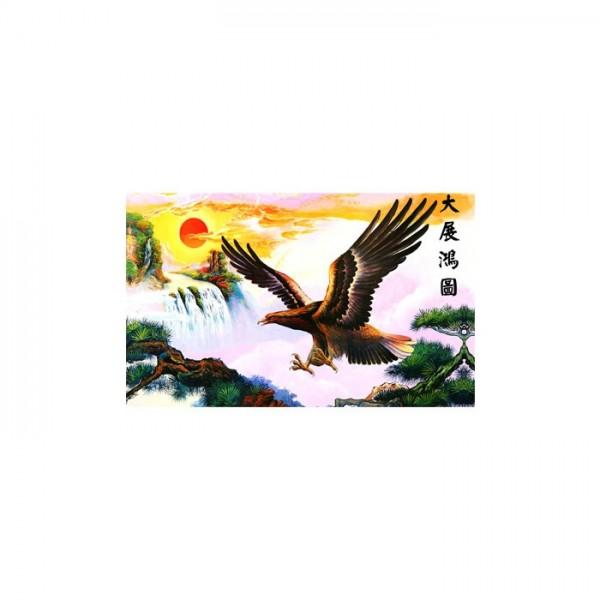 Eagle 5 Parça Kanvas Tablo 135X85 Cm