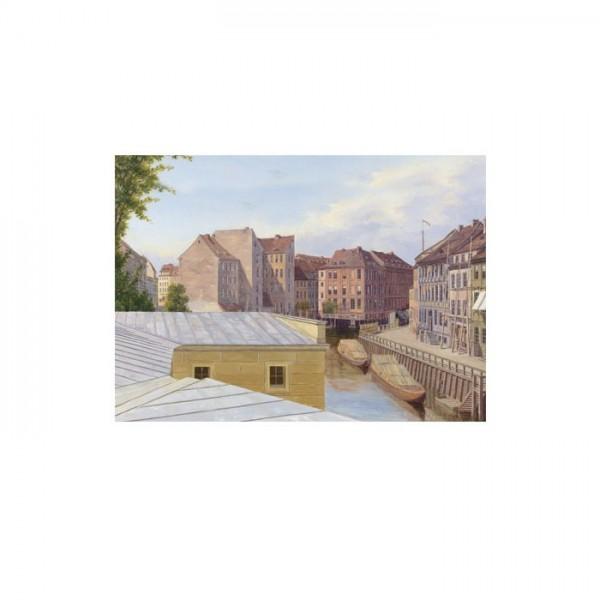 Eduard Gaertner - The Friedrichsgracht, Berlin 50x70 cm