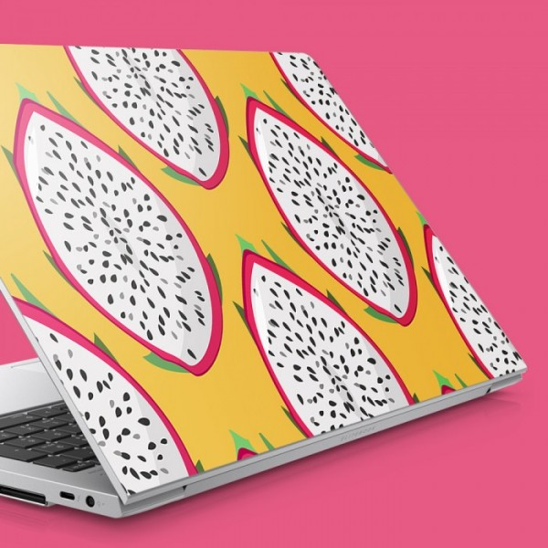 Ejderha Meyvesi Desen Notebook Sticker