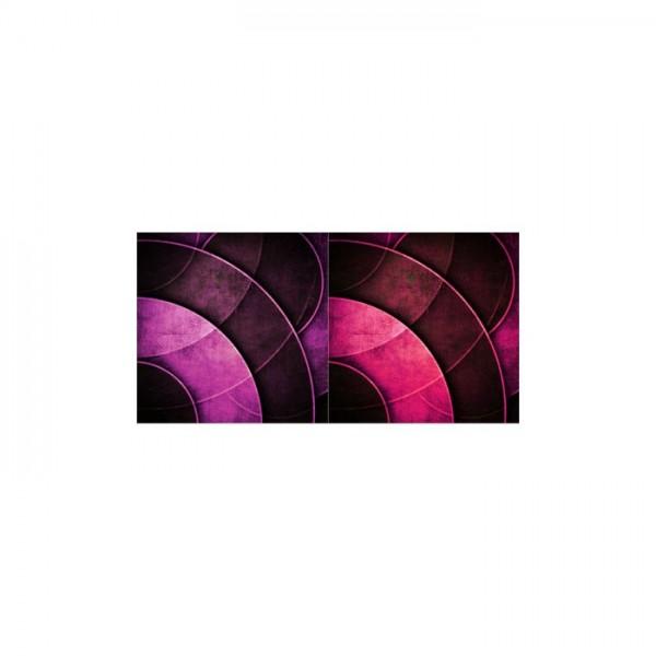 Elliptic-2 2 Parça Kanvas Tablo 80X40 Cm