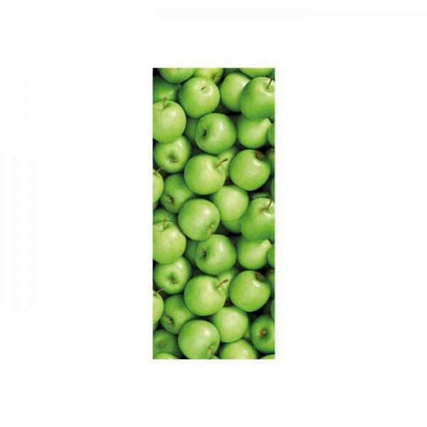 Elma Krom Buzdolabı Sticker
