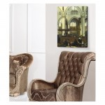 Emanuel de Witte - The Interior of the Oude Kerk, Amsterdam 50x70 cm