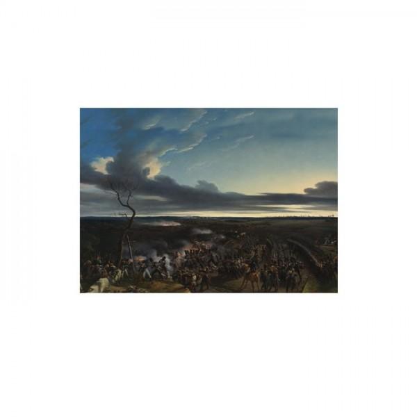 Emile-Jean-Horace Vernet - The Battle of Montmirail 50x70 cm