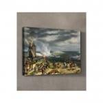 Emile-Jean-Horace Vernet - The Battle of Valmy 50x70 cm