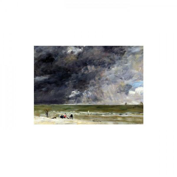 Eugène Boudin - Beach at Trouville 50x70 cm