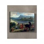 Eugène Delacroix - Ovid Among the Scythians 50x70 cm